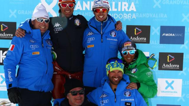 Valentina Greggio con il team