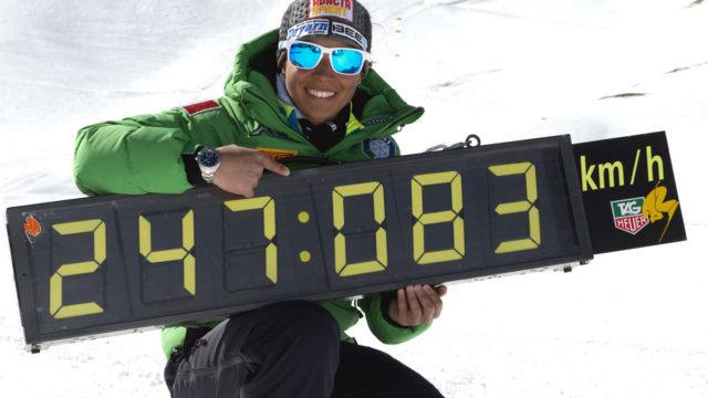 Valentina Greggio e il record mondiale di velocità