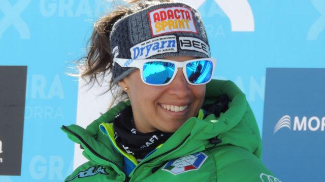 Il volto sorridente di Valentina Greggio, nata a Verbania