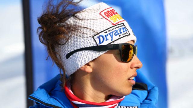 Valentina Greggio, la donna su sci più veloce del mondo